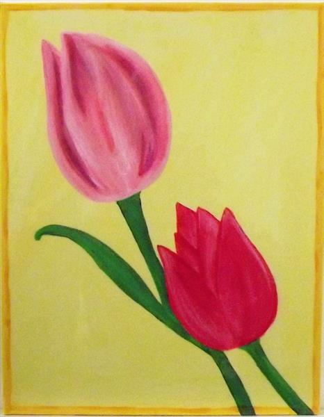 Tulip 1 by Louise Welford