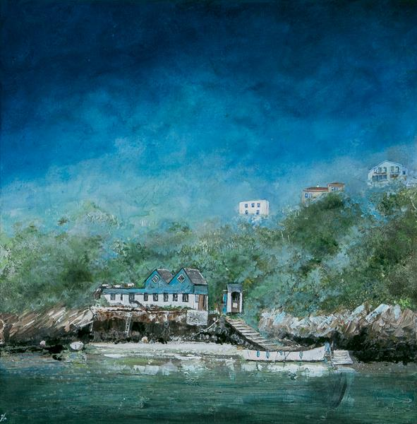 The Fern Pit Café & Ferry by Diane Griffiths