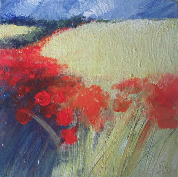 Brilliant Red Poppies