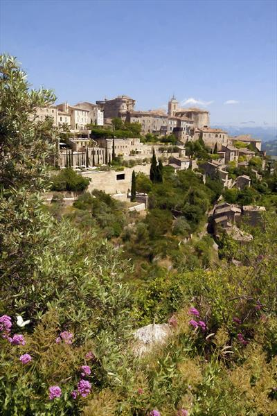Gordes – France #2 by Ron Whitby