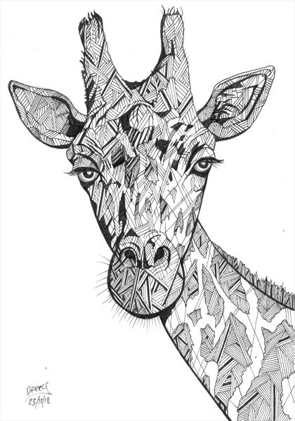 Gertie The Giraffe by Spencer   Derry