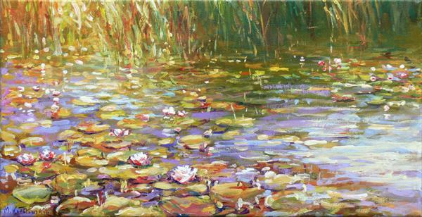 Waterlilies (Commission) by Mariusz Kaldowski
