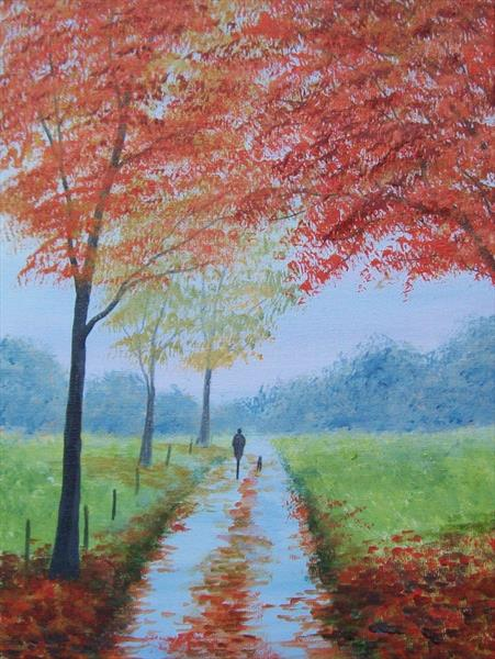Autumn Time Again by Patricia Richards