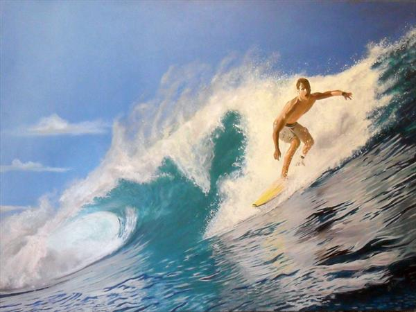 Surfy Dude by Steven Lynch