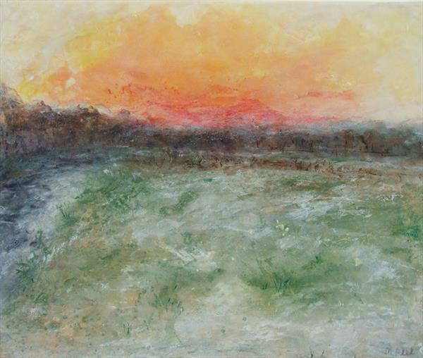 Frost on the Meadow by Miriam Meek