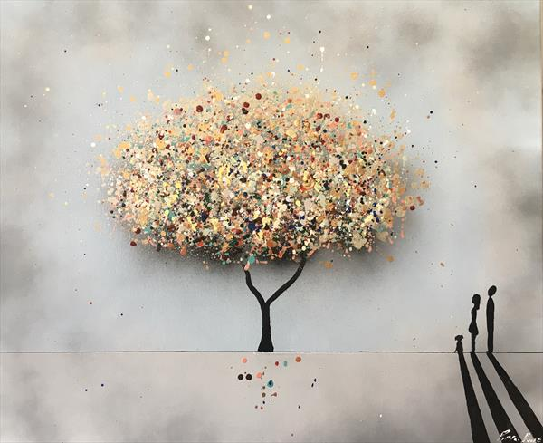 The wishing tree - Landscape by Pippa Buist