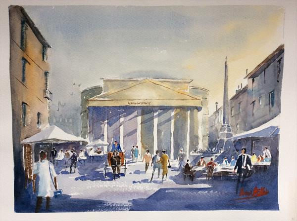 The Pantheon Rome by Brian Butler