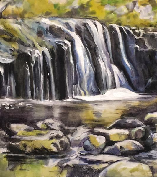 Blaen y Glyn Falls by Serena Phillips