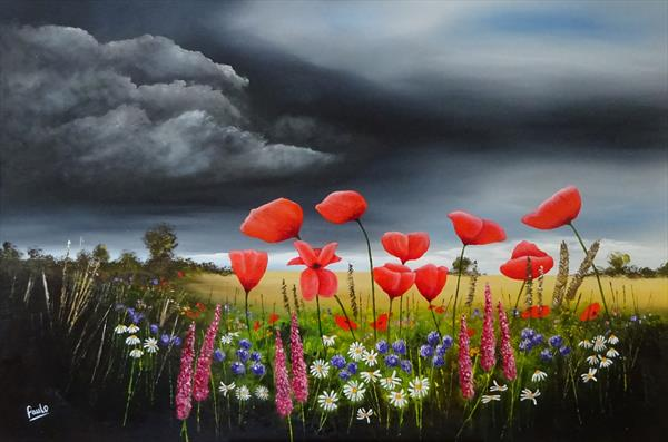 Storm Clouds by Paul Oughton