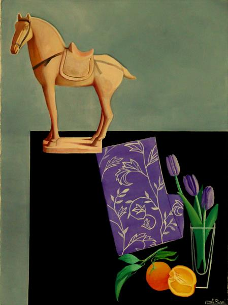 Still-Life With Tang Dynasty Horse by Paul Rossi