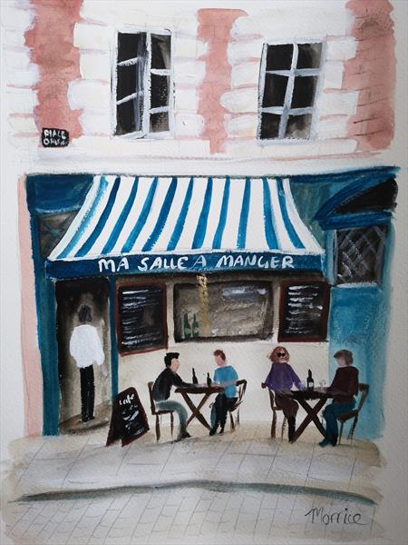 Ma Salle A Manger By Cheryl Morrice Artgallery Co Uk