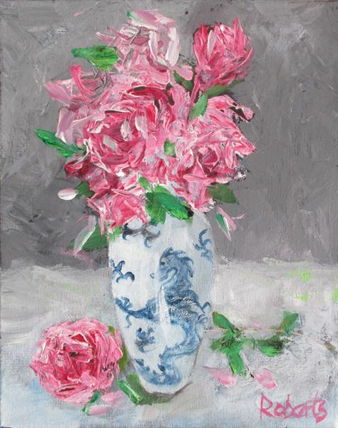 The Chinese vase by Rosalind Roberts