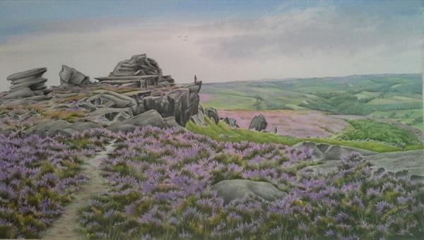 Hathersage Moor by Jacqui  Vinay