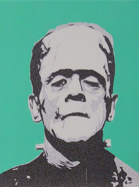 Literally Frankenstein's Monster by Gary Hogben