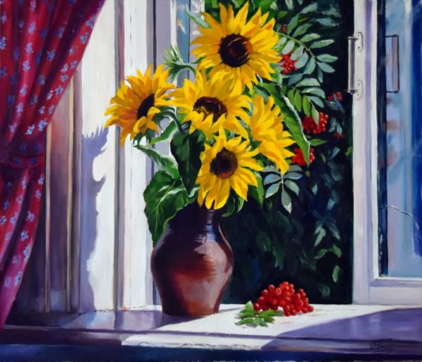 The window to the summer by Serghei Ghetiu