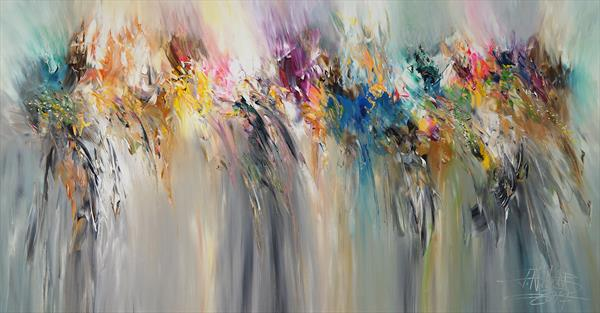 Modern Abstraction L 1 by Peter Nottrott