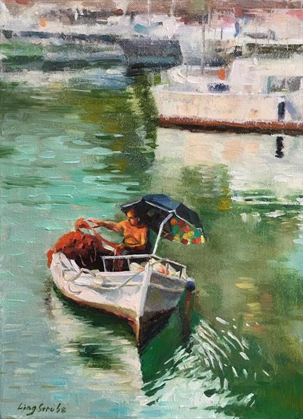A Fishman in Sicily by Ling Strube