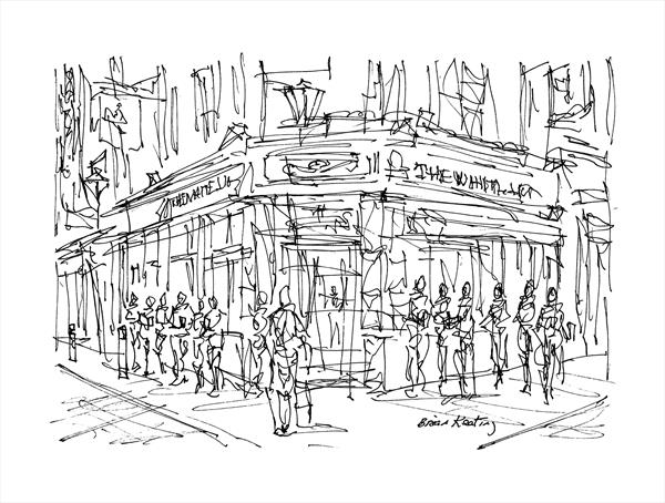 The White Lion Pub - London by Brian Keating