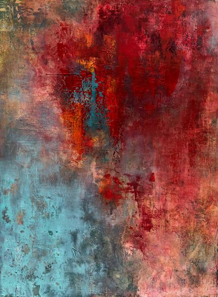 Tapestry in Oils by Julia Swaby