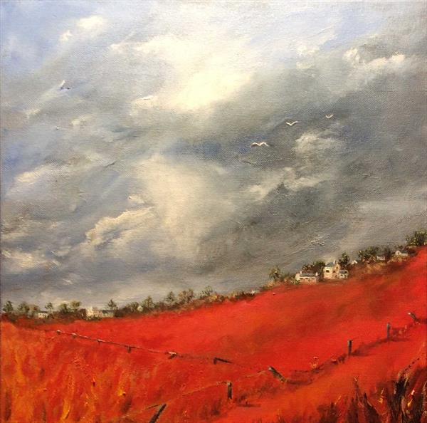 Welsh Hills (inspired by Barry Hilton) by Roberta Blackler