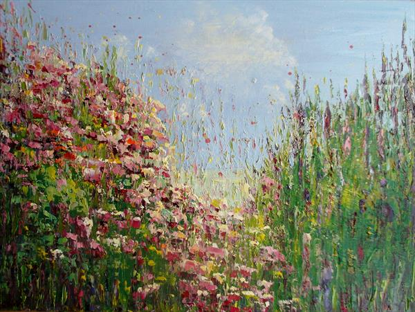 SUMMER ROSES by Therese O'Keeffe