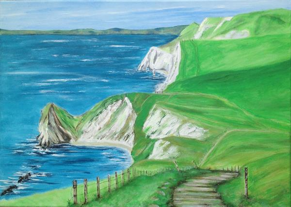 Dorset Coast by Tina Hiles