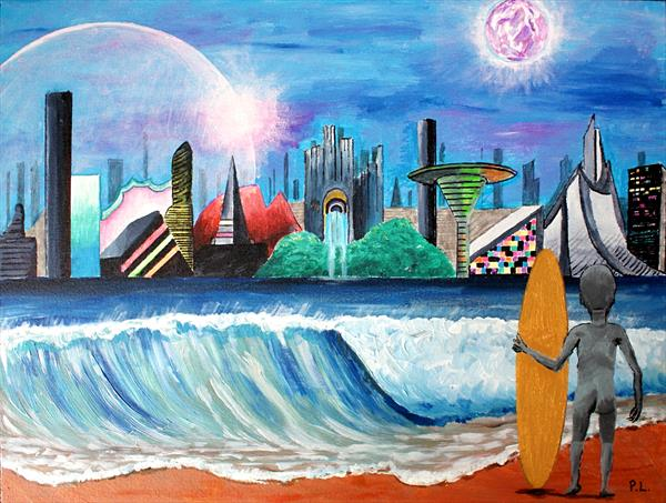 Surfer's View by Patrick Lee