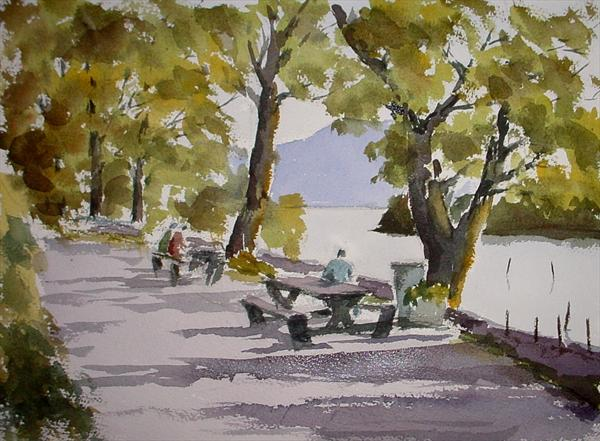 Still Afternoon, Derwentwater by Mike Livesey