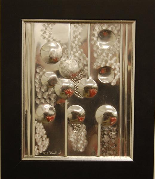 Xmas Baubles Abstract by Paul Pennell