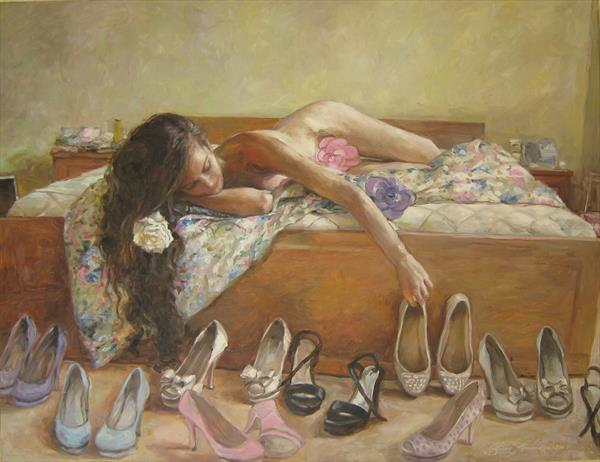 Which shoes should I choose today by Van Krusteva