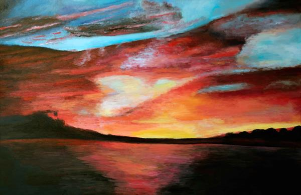 Sunset by Laura Saunders