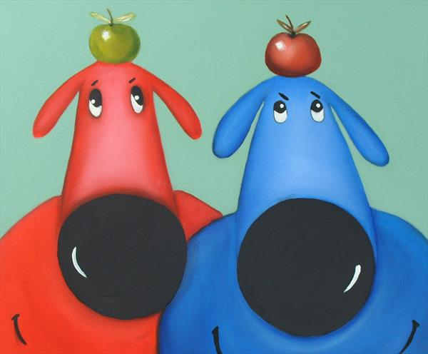look out for apples by Terry Wylde