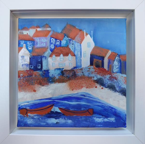 St Ives Nets by Elaine Allender