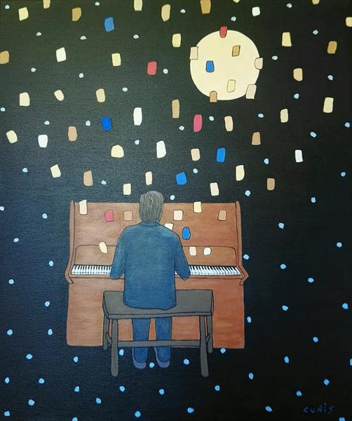 Chopin, nocturnes. (Larger) by mario curis