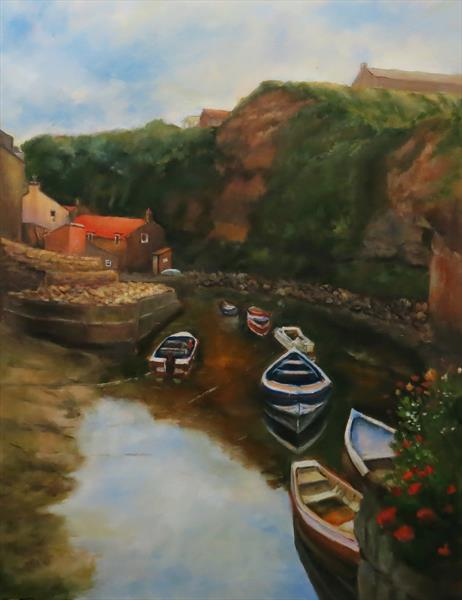 Staithes, North Yorkshire by Maureen Greenwood