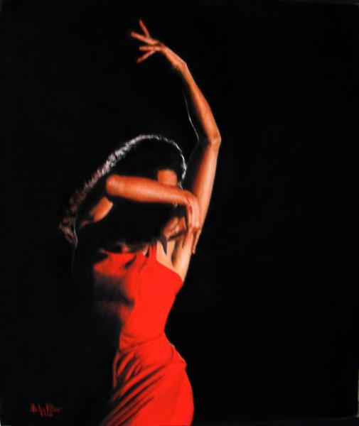 Flamenco Apassionata - Flamenco Dancer, Flamenco dance by John Palmer