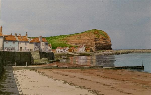 Staithes, North Yorkshire. by Peter Marshall