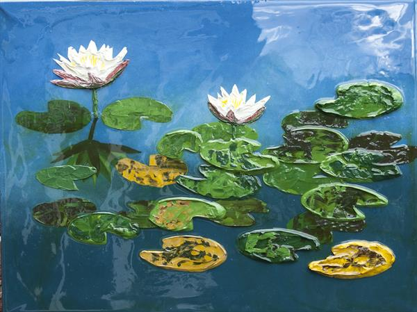Water Lilies by Jackie Ward