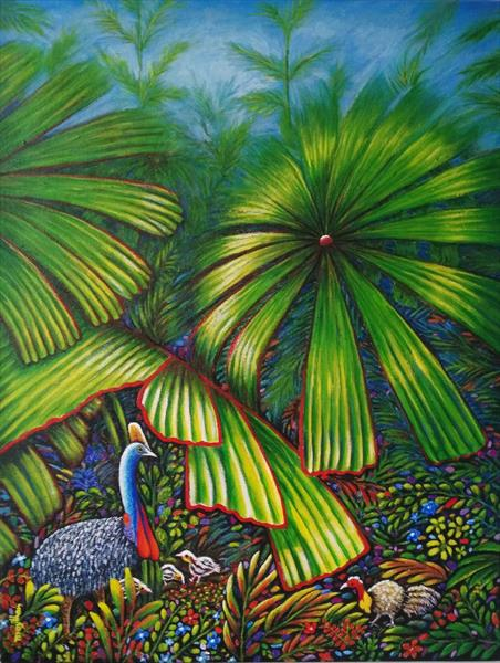 Cassowary, the great Dad! by may than
