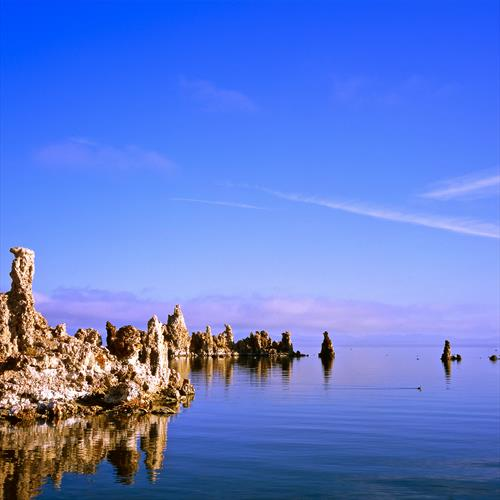 Morning Light at Mono Lake by Alex Cassels