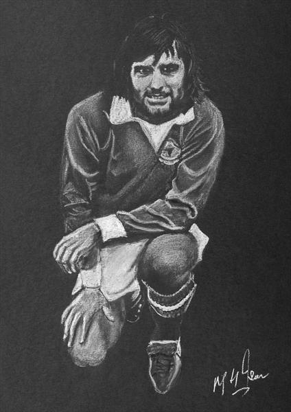 George Best - Footballer by Mike Isaac