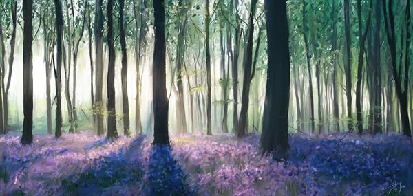 Bluebells  by ant fox