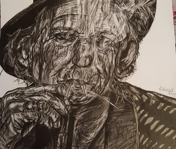Keith Richards by Laura Kinnell