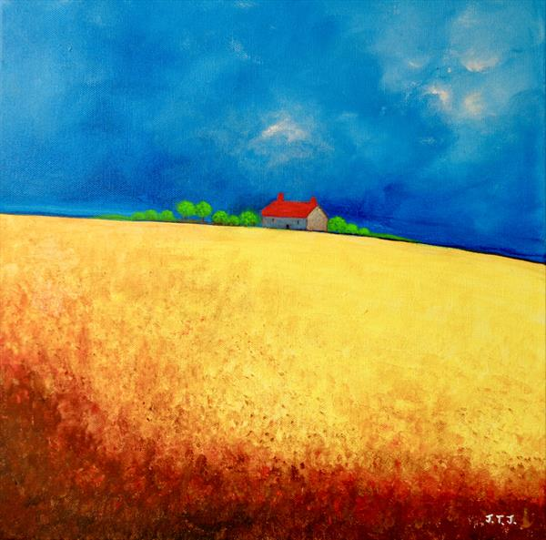 The House by the Cornfield by Jean Tatton Jones
