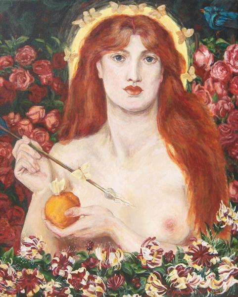 Venus Verticordia (after Dante Gabriel Rossetti)  by Chris Norman