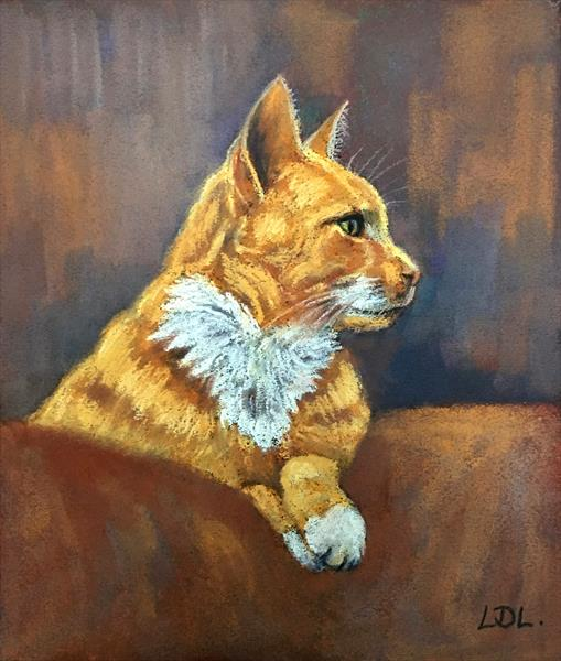 Ginger Cat by Lorna Lancaster