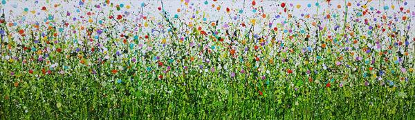 Painted Meadows #4 by Lucy Moore