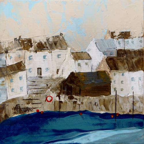 Polperro - the nethouse by Elaine Allender