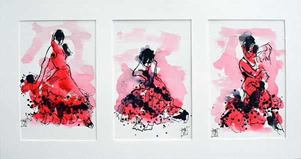 Flamenca series by Melanie Hamer