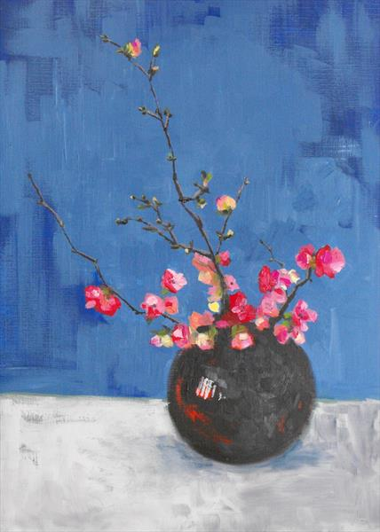 Cherry Blossom  by sarah hedley hedley